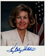 Senator KAY BAILEY HUTCHISON In-person Signed Photo