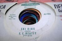 Rock 45 E.C. Beatty - Ski King / I'M A Lucky Man On Colonial