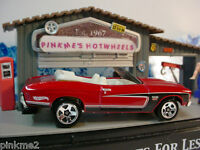2011 Hot Wheels CHEVY Design Excl '70 CHEVELLE SS Conv 1970 ✿Red ✿New LOOSE