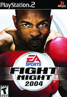 Fight Night 2004 - Playstation 2 PS2 Game - Complete