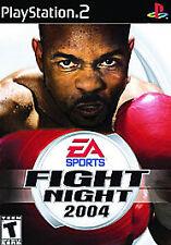 Fight Night 2004 (Sony PlayStation 2, 2004) PS2