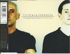 DJ DON & SVENSON - My beat shoot back ('98 REMIXES) CDM 4TR Trance House HOLLAND