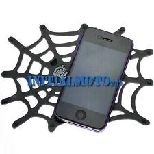 Car SUV Truck Cobweb Spider Silicone Gel Cell Phone Sticky Pad Anti Slip Mat Net