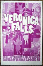 Veronica Falls 2013 Gig Poster Portland Oregon Concert
