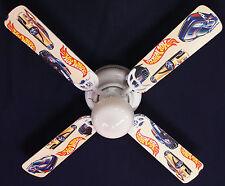 """New HOT WHEELS RACE CAR CARS Ceiling Fan 42"""""""