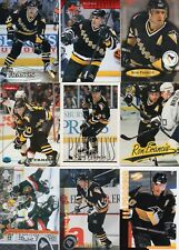 9-ron francis all pittsburgh penguins card lot #2 nice mix