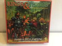 Kings & Things von Pegasus Fantasy Brettspiel erinnert an Siedler Satirisch