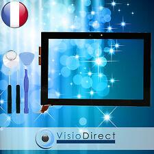 Vitre ecran tactile pour Asus Transformer TF100 TF101 noir + outils