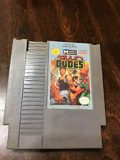 Bad Dudes NES Nintendo Video Game TESTED Classic Retro Gaming Fighting