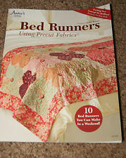 QUILTING: BED RUNNERS USING PRECUT FABRICS- 10 RUNNERS YOU CAN MAKE IN A WEEKEND