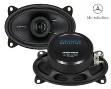 Crunch 6x4 coassiale Speaker per Mercedes Benz W126 CLASSE S