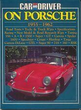 PORSCHE 1955-62 356 1500 1600 GT Carrera SPYDER TARGA 718 360 TSD libro di prova su strada