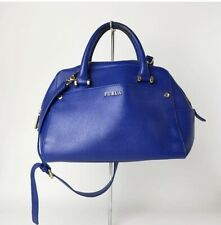Leather Bag Furla summer blue