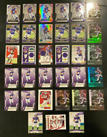 Irv Smith Jr 2019 Rookie Lot 33 Cards~Inserts Jersey/Patches/Prizm SP Vikings RC