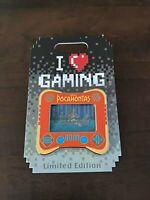 Disney I Heart Gaming Pin POCAHONTAS LE 2500 Lenticular Meeko DLR Video Game