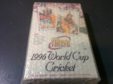 1996 Futera World Cup Cricket Cards Factory Wax Box 40 packs RARE!