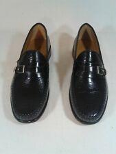 Brass Boot Men's Dress Shoes Size 10 D Black Monk Strap