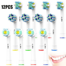 12pcs Oral-B Pulsonic Braun Replacement Brushes with 3 Types Of Round Head Brush