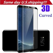 For Samsung Galaxy S9 3D Curved Full Cover Tempered Glass Screen Protector Film