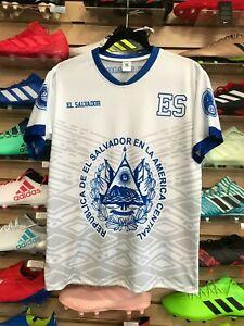 El Salvador Soccer Jersey/Camisa De El Salvador Size Large/XL