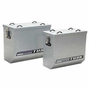 Tusk Panniers,Dual Sport,ADV-Medium-Silver-Luggage-Saddlebags,ADV