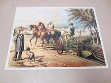 John Deere & Co. Moline IL Poster Print Williams Co. Gilpin Horse Drawn Plow