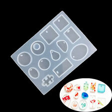 DIY Silicone Mold Resin Jewelry Making Mould Epoxy Pendant Craft Mould