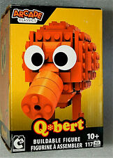 Video Game Arcade Classics QBert 117pc Buildable Figure New NOS 2018