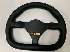 """MOMO MOD 27 Leather Steering Wheel 270mm  NEW R1925/27L """"US Dealer"""""""