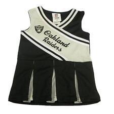 New NFL Oakland Raiders Infant Girls Cheerleader Dress Sizes 18 Months Football
