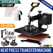 12X10 8IN1 Multifonctionnel Hot Press/Presse à chaud presse à chaud t-shirt