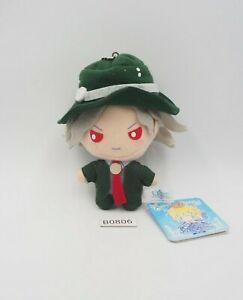 """Fate Grand Order B0806 Avenger Edmond SEGA Mascot Plush 4"""" Toy TAG Doll Japan"""