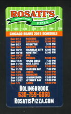 Chicago Bears--2015 Magnet Schedule