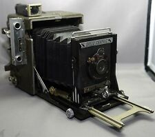 GRAFLEX Speed Graphic VINTAGE Bellows Camera SINGLO Special APLANAT Lens USA