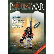 PAINTING WAR - VOLUME 4 - BRITISH NAPOLEONIC - MINIATURES GUIDE - SENT 1ST CLASS