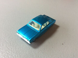 EUC Displayed Only Blue Matchbox Superfast England Ford Cortina No. 25