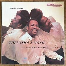 Thelonious Monk Brilliant Corners Japan LP 1984 Victor VIJ-107 + Insert