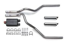 Dodge Ram 2002-2003 Dual Exhaust Kit Flowmaster 40 Muffler Chrome Tips