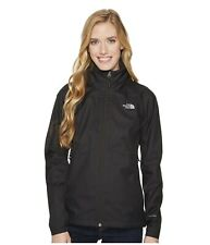 The North Face Women's Black Resolve Waterproof Plus Short Jacket XL UK 16 - 18