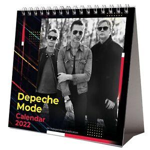 Depeche Mode 2022 Desktop Calendar NEW Desk 12 Months