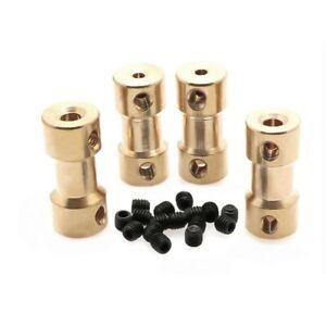 2/2.3/3/3.17/4/5/6mm Coupler Brass Coupling Joint Motor Shaft Hot Sale