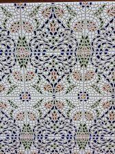 Traditional Spanish Sevilliana wall tiles Italica 15x20cm Looks Like Mosaic £24