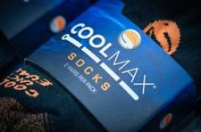 GURU COOLMAX SOCKS 2-PACK BLACK/ORANGE ALL SIZES COARSE FISHING 3 SEASON