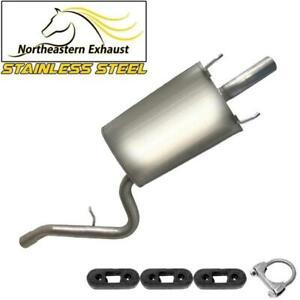 Stainless Steel Exhaust Muffler fits: 1996-2006 Cirrus Sebring Stratus Breeze