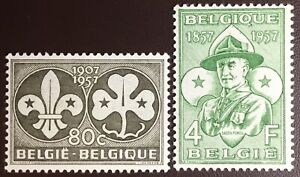 Belgium 1957 Scouts MH