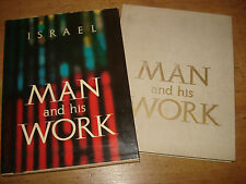 Man and His Work: The Story of the Histadrut L. Kuperstein  Editor 1965 hardback