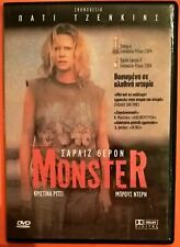 Monster DVD Region 2 Charlize Theron Christina Ricci Bruce Dern Patty Jenkins