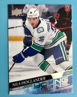 2020-21 Upper Deck Series 2 Nils Hoglander Young Guns RC #462 Canucks