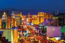 "LAS VEGAS - THE STRIP BY NIGHT - 91 x 61 MM 36 x 24"" ART POSTER"