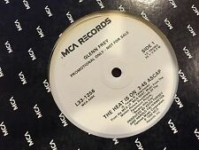 "Glenn Frey The Heat Is On 12"" MCA Records RARE PROMO DJ COPY 1984 #L33-1256"